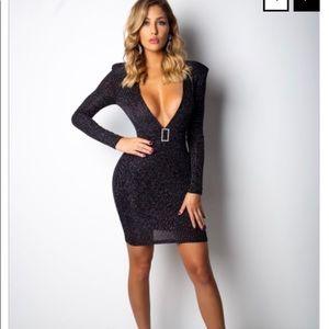 c819241138f Diva Boutique. Black Sparkling Mini Dress